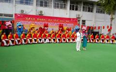 安徽蚌埠:举办第二届民间民俗传统健身项目巡游踩街